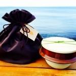 海女の小屋与望亭 - 陶器の釜と巾着袋で釜のお持ち帰り☆