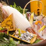 酔灯屋 - 「九州盛」九州で獲れた鮮魚の盛り合わせ!九州に生まれてよかったー!