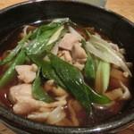 27821790 - キジメン(鶏肉入り芋川うどん・1000円)