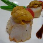 クーネルキッチン - ホタテと雲丹