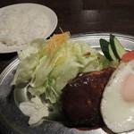 レストランかのう - ハンバーグ