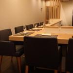 Restaurant つじ川 - カウンター8席