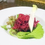 27825108 - 赤キャベツのコールスローサラダ(500円+税サ)