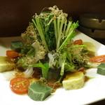はんなり  - 生麩と水菜サラダ
