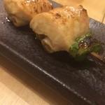 串焼き FUJI - なでしこ鶏葱ムネ巻き