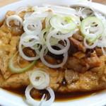 千登利 - 牛肉豆腐(1番人気)