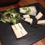 ビッテ - ★7 ドイツチーズの盛り合わせ