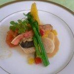 ヴァン・ヴェール - 魚料理
