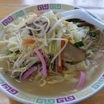 九州ラーメンふじ - 料理写真:チャンポン大盛り