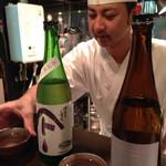 天ぷら 酒菜 醍醐 - 親方です