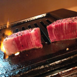 さつま - 肉厚です。焼肉でなく、ステーキですね。