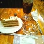 珈琲の店 Paris COFFEE - 紅茶のケーキとIC