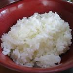 志田屋 - ご飯