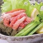 江戸前がってん寿司 - かに味噌サラダ