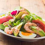 ■海老とアボカドのサラダ