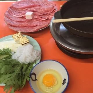 米久本店 - 上の牛鍋!
