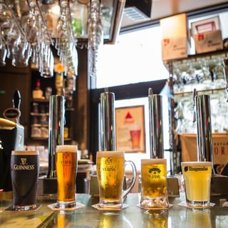 ビールの品揃え130種類以上!!!