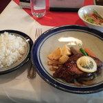 スエヒロ - ステーキ・サラダ・ライス