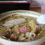 羅亜~麺 加藤屋 - 特製せあぶららーめん 醤油(大盛)750+100円