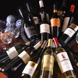 大好評!!ソムリエが選んだフルボトルワイン、全14種類