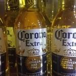 武州うどんあかねandみどりダイニング - コロナエクストラビールメキシコのビールだよ!