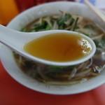 新雅 - スープは、こんな感じ