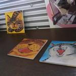 カフェ デ ルース - ネコの絵