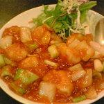 中国美食坊 聚珍楼 - お疲れ様セット(海老チリ)