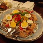 2785325 - 大山(だいせん)鶏とアスパラのサラダ仕立て