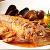 新鮮な魚を丸ごと一尾使った『ホウボウのアクアパッツァ』