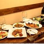 ワイン食堂 がっと - お得なプリフィックコース