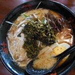 味千拉麺 - 阿蘇高菜ラーメン800円 2014年5月