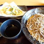 そばカフェ生田村 - 天ぷら蕎麦