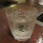 さかさ - 芋焼酎(白霧島)ロック