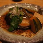 里海邸  - 料理写真:銀ダラとアワビの煮付け