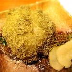 至福の富山湾 海鮮山鮮 - とろろ昆布のおにぎり