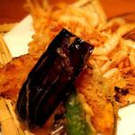 至福の富山湾 海鮮山鮮 - 白エビのかき揚げ