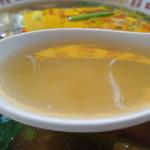 徳翔楼 - さっぱりしおた中にもコクがある透き通ったスープ
