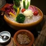 27859488 - いろいろ野菜のバーニャカウダソース