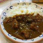 マム - チキンカレー+茹で卵 ¥700