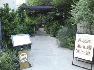ガーデンハウス レストラン - 入り口