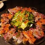 sengyoyakitorisa-kasu - 鮮魚のカルパッチョ780円