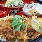 杜のレストラン - 地鶏の親子丼