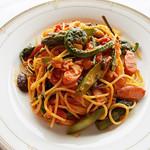 杜のレストラン - 山菜パスタ