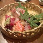 新和食 みやけ - お造り5種盛り(2150円)