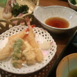 新和食 みやけ - 松花堂用天ぷら