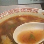 スタミナラーメン さわき 東仙台店 - スープ