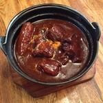 レストラン サンライズ - 水や粉を一切使わない究極のビーフシチューは、肉と野菜のエキスが超凝縮w