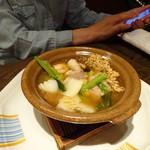 中国料理 燦宮 - おこげ