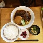 27867683 - サバの味噌煮込み膳1,000円